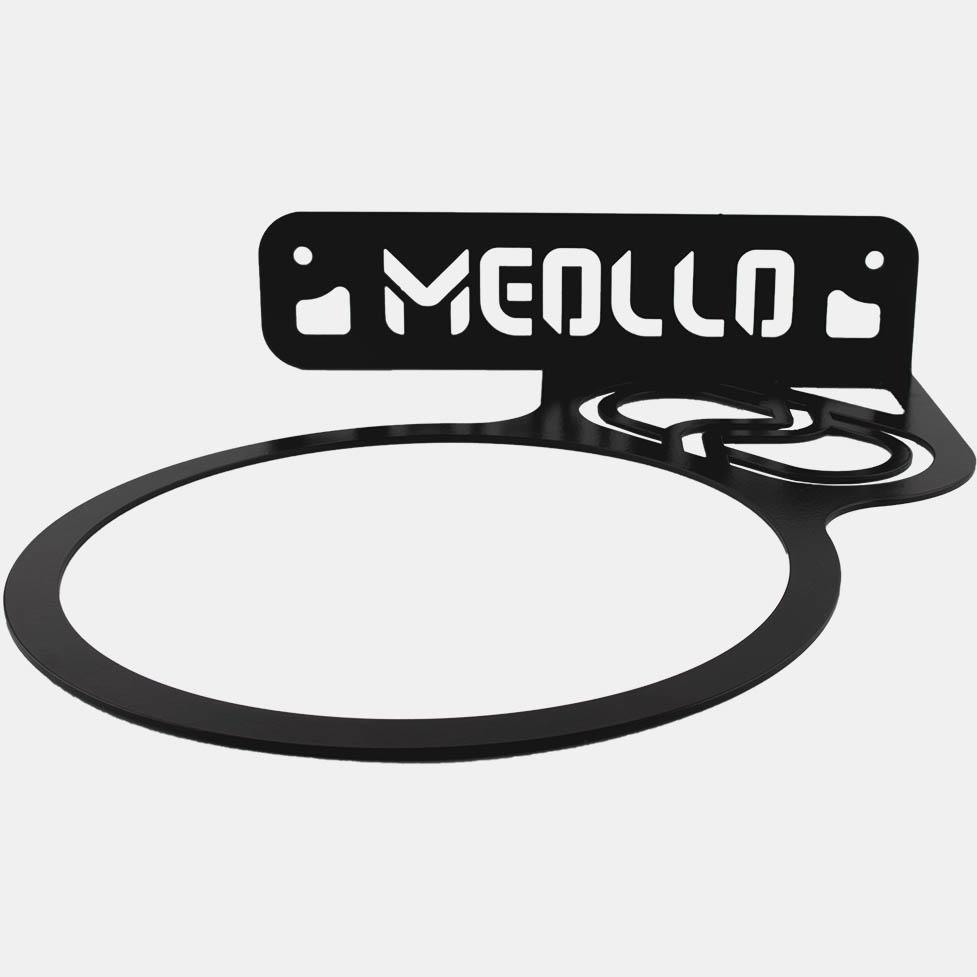 100/% Stahl MEOLLO Futsal Ball Wandhalterung