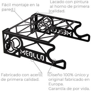 Bicicleta soporte detalles