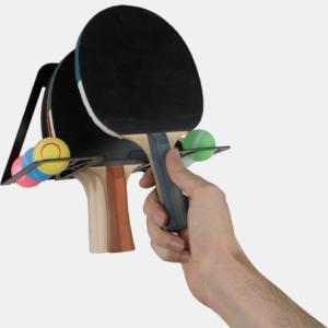 soporte y colgador de ping pong