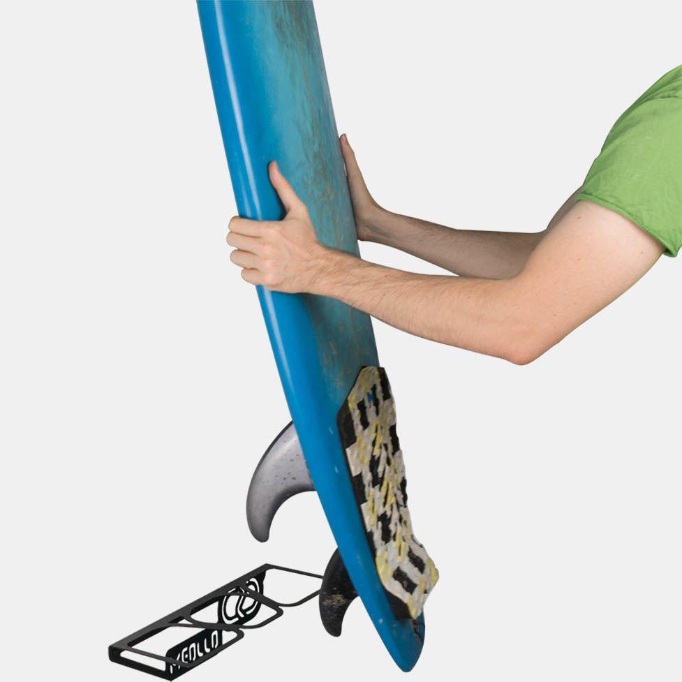soporte y colgador de surf