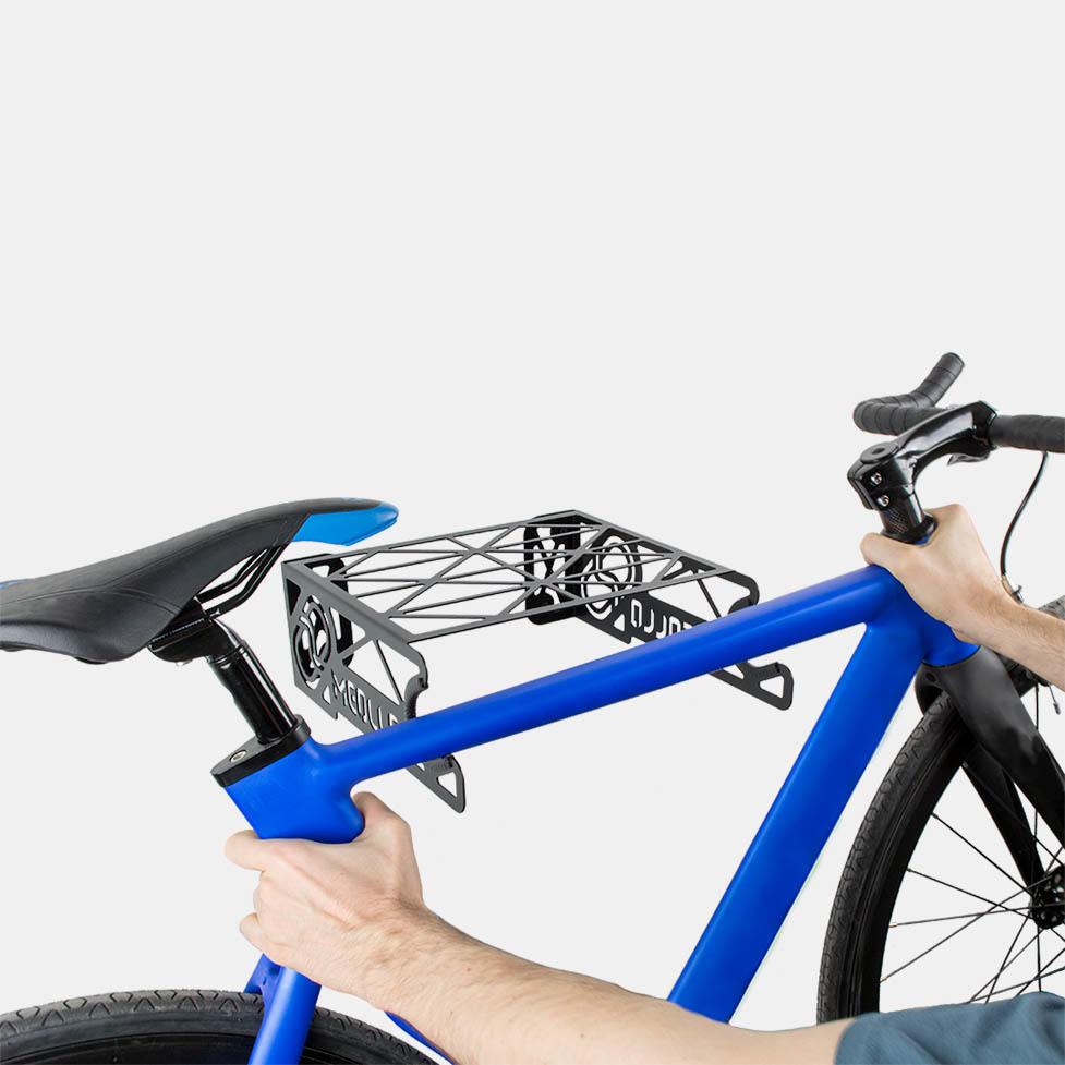 soporte y colgador de bicicleta