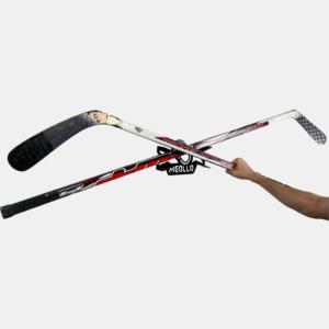 soporte y colgador de hockey