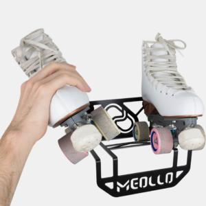 soporte y colgador de patines