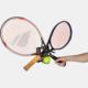 colgador y soporte de pared para tenis