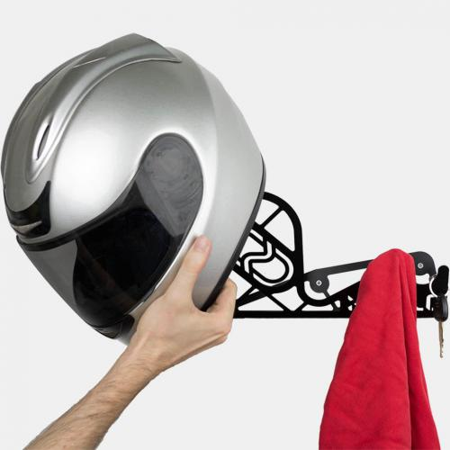 wall rack helmet
