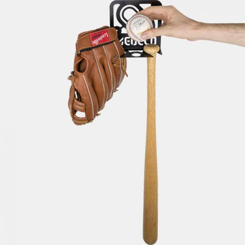 baseball wall rack
