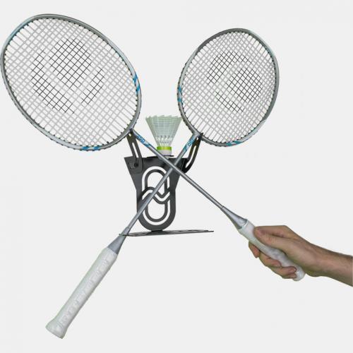wall rack badminton